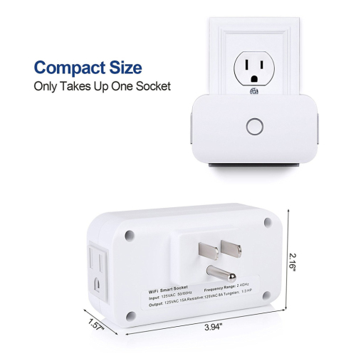 Wireless Time Smart Socket Remote Control Your Device
