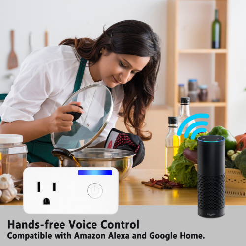 Work With IFTTT 110V 16A Smart Plug Timer App Remote Control