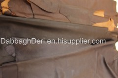 Genuine sheepskin leather for garment bag and shoes manufacture