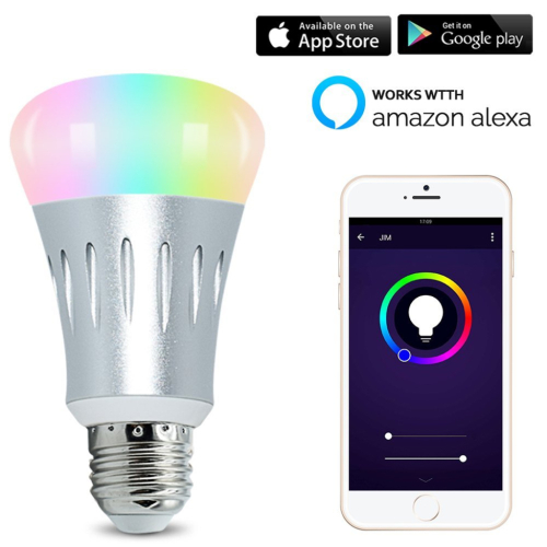 Color Changing WiFi Smart Light Bulb