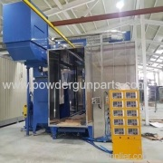 Automatic Powder Coating Machine Installed in South Korea