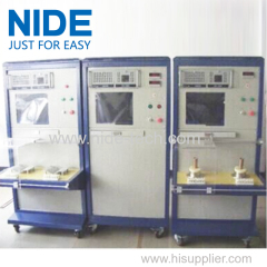 insulation resistance DC resistance surge test stator testing table equipment machine