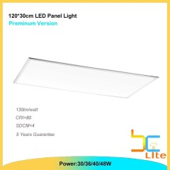 100lm/w led panelen 30x120 40W cool white TUV listed