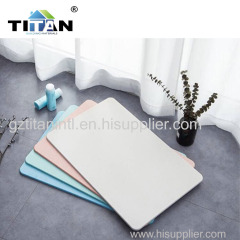 Diatomite bath room mat