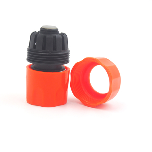 Plastic 19MM Water Hose Quick Connector With Waterstop