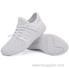 Full White Airpump Aqua Sneaker Shoes