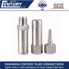Stainless Steel Button Type Semi Automatic Quick Coupling Chemical Quick Disconnect Coupling