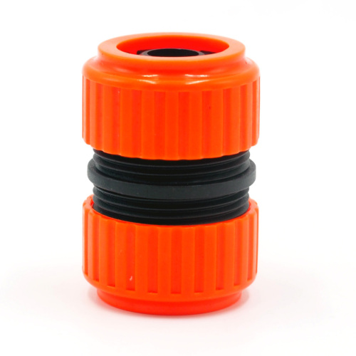 "Plastic 3/4"" garden hose repair connector"