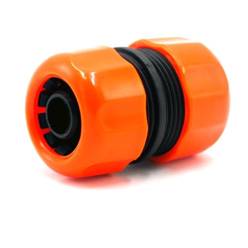 Plastic 3/4 inch garden water hose mender