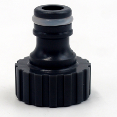 "Plastic 3/4"" female tap connector"
