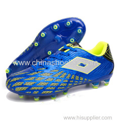 Soccer sport shoes with LED lights TPU shoes factory