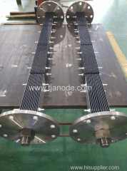 Ru-Ir Base Titanium Plate Anodes for Anti-fouling System of Vessel