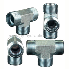 Ferrule fitting connection tee ACCH-OG ADDH-OG ACCH-OG/RN ADDH-OG/RN