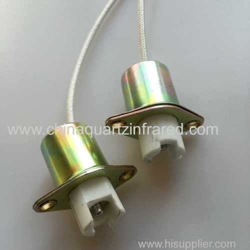 R7S Copper lamp holder high temperature