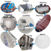 Potato starch full stainless steel cassava starch production line