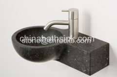 Bob Black Basalt Washing Hang Basins