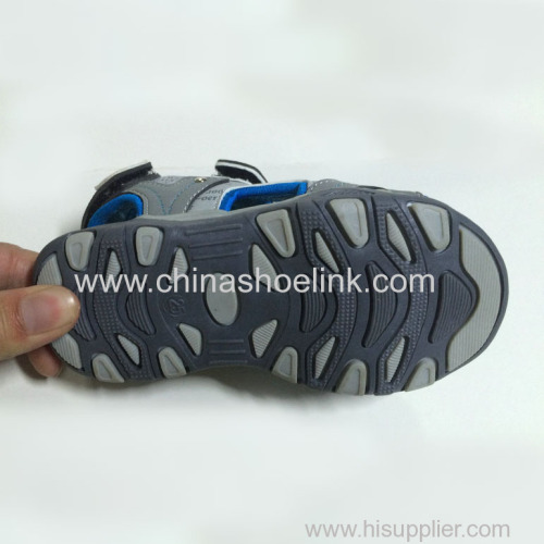 China open toe sport sandals leather sandals supplier