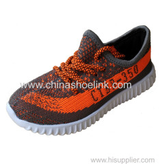 Sply 350 China sport casual shoes exporter fly knitting shoes