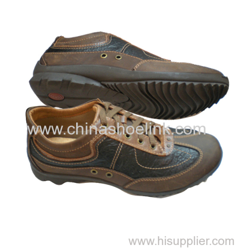 High quality men comfortable casual shoes dress shoes factory