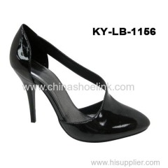 High heels lady sandal summer fashion shoes manufactor