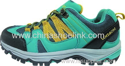 Best grey hiking shoes China trekking shoes walking shoes supplier