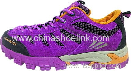 Best charcoal hiking shoes China trekking shoes walking shoes factory