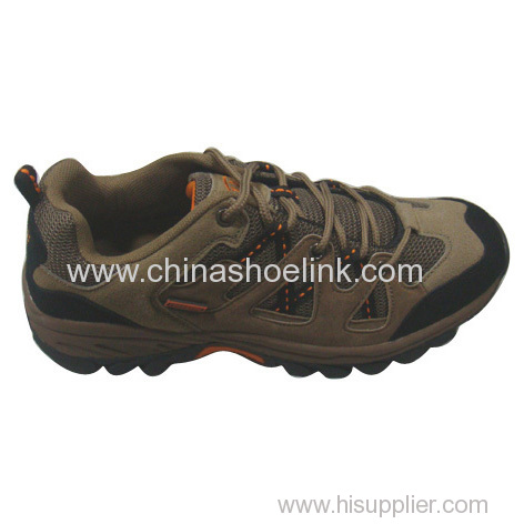 Leather casual Best hiking shoes China trekking shoes distributor tex trail walking shoes rugged outdoor shoes supplier