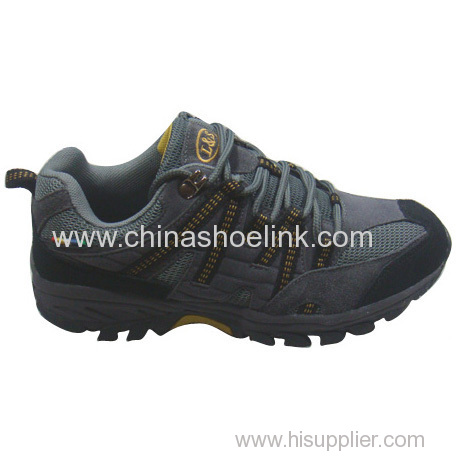 Synthetic leather Best hiking shoes China trekking shoes tex trail walking shoes rugged outdoor shoes wholesaler