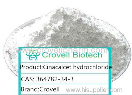 Cinacalcet Hydrochloride White Crastalline Powder