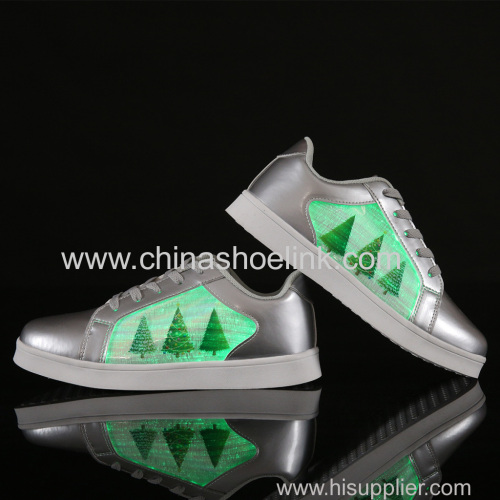 Charging Shoes Just skateboard shoes with LED lights fashion shoes manufactor