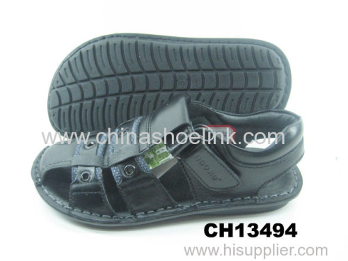 Best top sider summer leather sandals manufactor