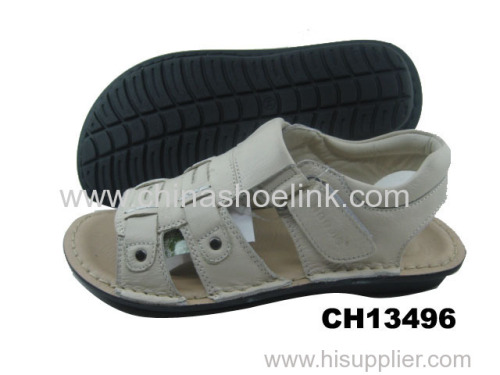 Best child summer leather sandals manufactor