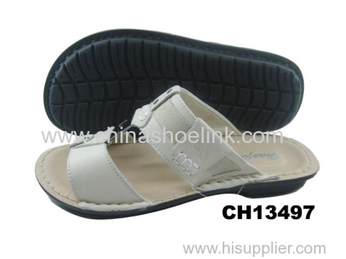 Best summer action leather sandals factory
