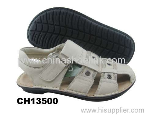 Best top sider summer action leather sandals manufactor