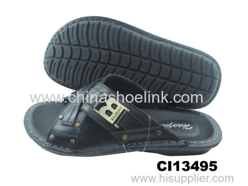 Best child sandals wholesaler summer action leather sandals factory