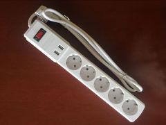 power socket EU US UK AU plug usb power strip 2 USB port 3 electrical wall outlet extension socket