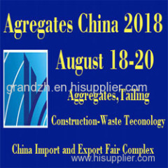 Aggregates china Fair 2018