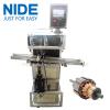 Vacuum cleaner motor armature wedge inserting machine