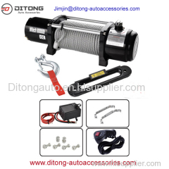 4x4 8000lbs Automobile Vehicle Electric Winches 12V/24V DC
