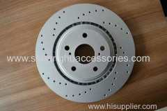 brake disc for Toyota-Lexus-grey iron