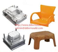 DDW Plastic Furniture Mold Plastic Chair Mold Plastic Stool Mold