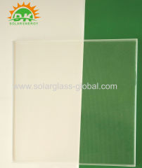 Tempered solar glass 3.2mm ultra-clear solar panel coating glass for pv panel solar collector