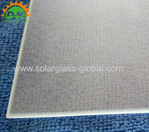 Solar collector glass 3.2mm for solar hot water heater