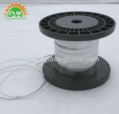 Solar pv wire ribbon for PV solar panel 5.0*2mm