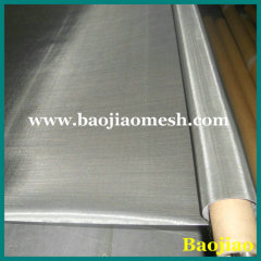 Woven 0.1mm 304 Stainless Steel Wire Filter Mesh