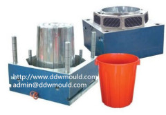 DDW Painting Plastic Bucket Mold to Russia Injection Bucket Mold
