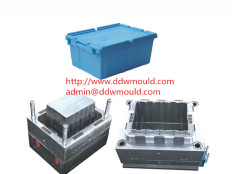 DDW Household Plastic Crate Mold Plastic Turnover Box Mold to Russia