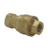 ISO7241-B Pneumatic Quick Coupling Medium-Pressure Brass Disconnect Quick Coupling
