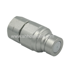 Volve Flat Face Hydraulic Quick Couplers NPT Thread 1/2 Inch FF Quick Disconnect