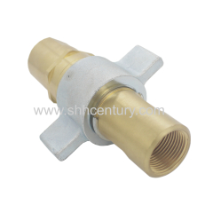 Wing Nut Hydraulic Quick Connect Coupling